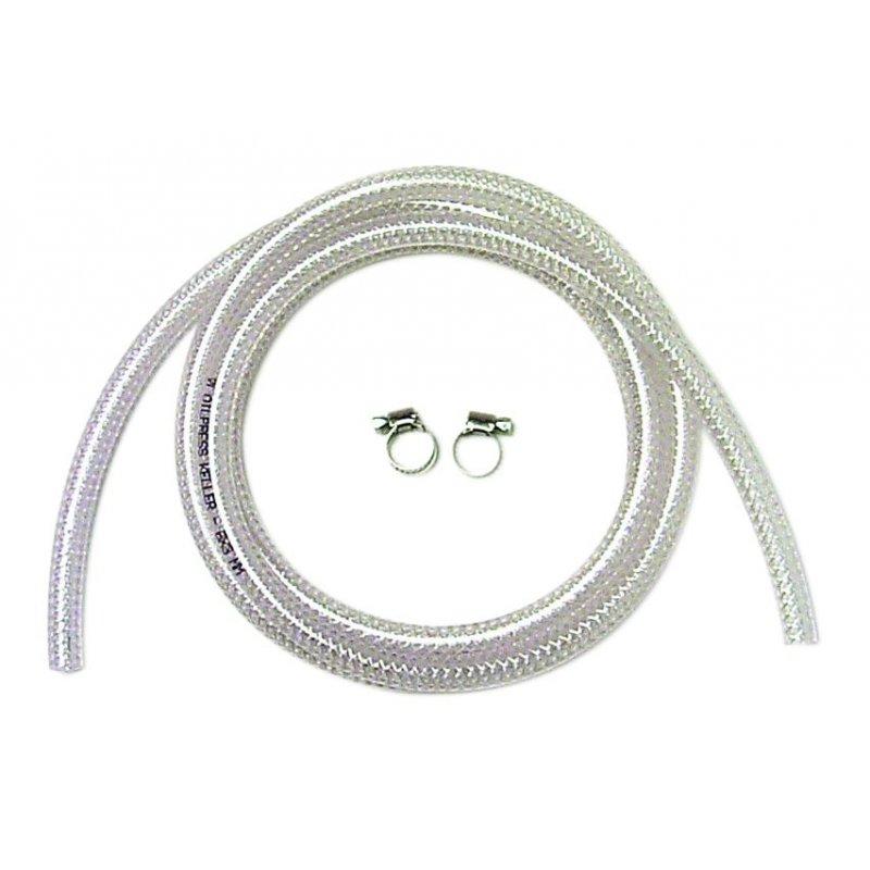 PVC-Gewebeschlauch 15m für Elektro Kanisterpumpe